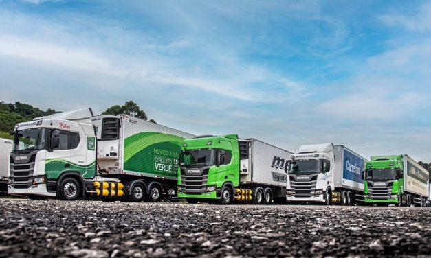 TransMaroni forma a maior frota de caminhões Scania a gás do País