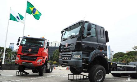 Tatra apresenta os caminhões que serão produzidos no Brasil