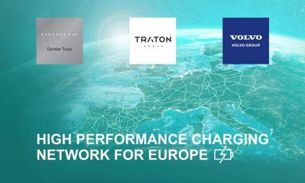 Daimler, Traton e Volvo juntas em infraestrutura para o transporte eletrificado