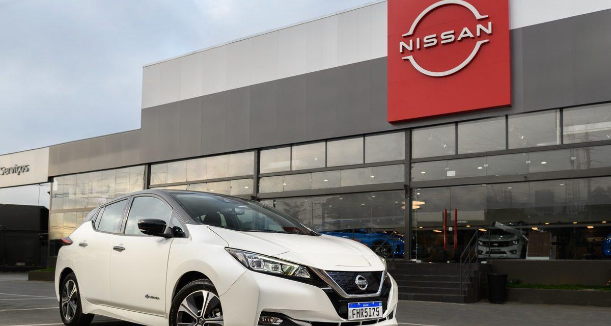 Nissan amplia pontos de venda do Leaf no Brasil
