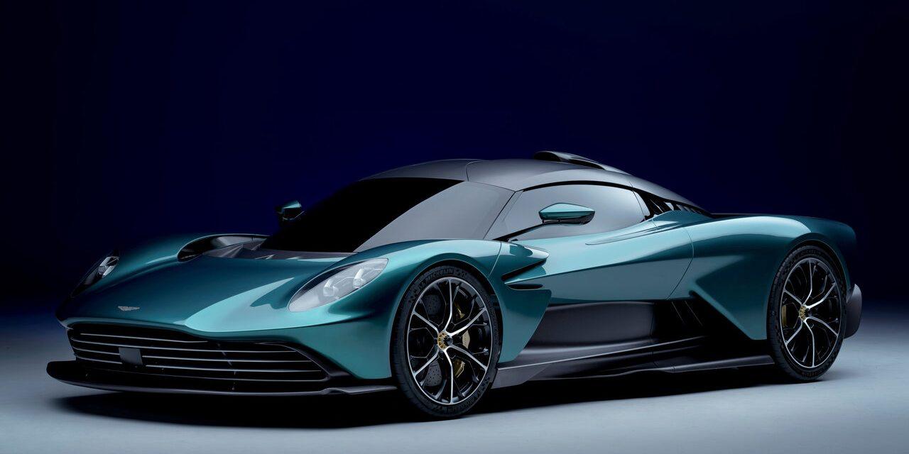 Aston Martin Valhalla é superesportivo híbrido de 950 cavalos