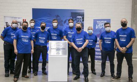 Nakata inaugura fábrica em Extrema