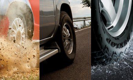 Dunlop lança pneus para picapes e SUVs