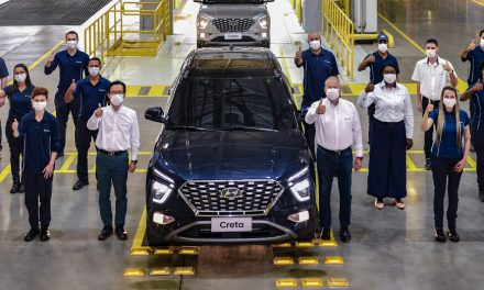 Hyundai começa a produzir novo Creta