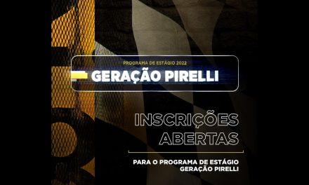 Pirelli abre inscrições para estágio