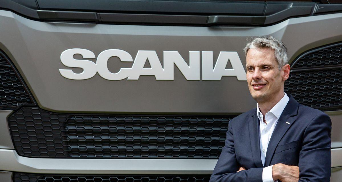 Fábio Souza comandará as operações comerciais da Scania no Brasil