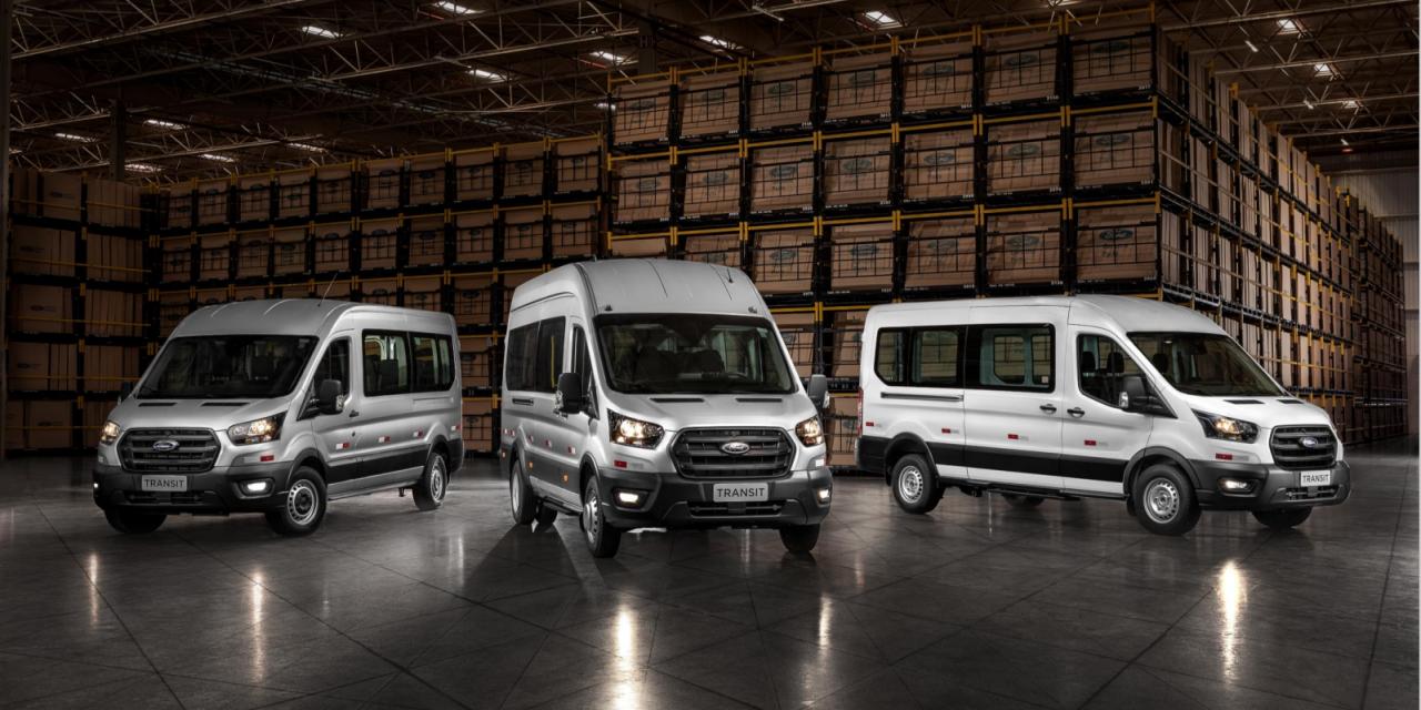 Com Transit, Ford cria divisão de veículos comerciais na América do Sul