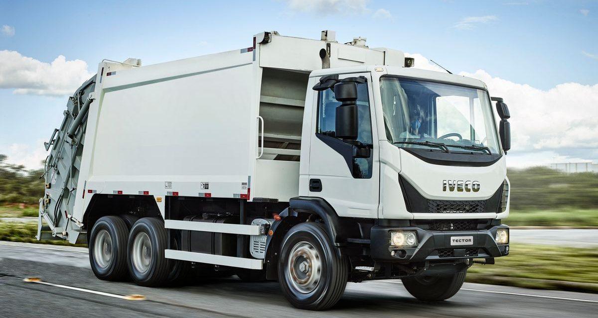 Iveco lança Tector para coleta de resíduos