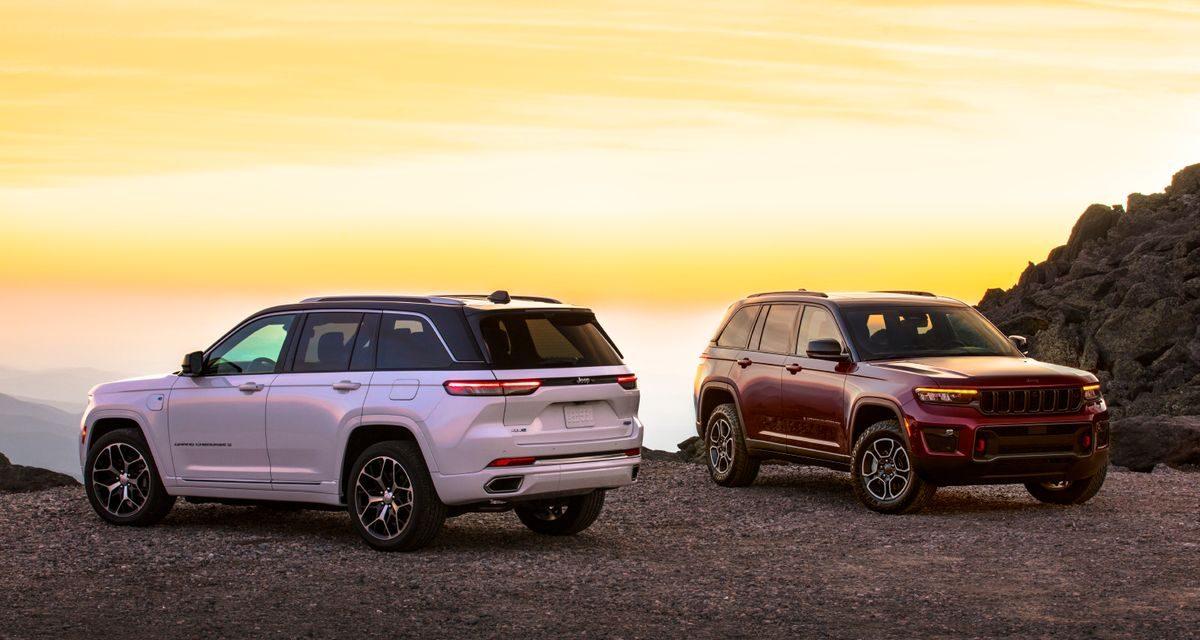 Jeep lança Grand Cherokee eletrificado