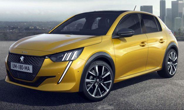 Stellantis mostra Peugeot 208 e-GT e Fiat e500 no salão dos elétricos
