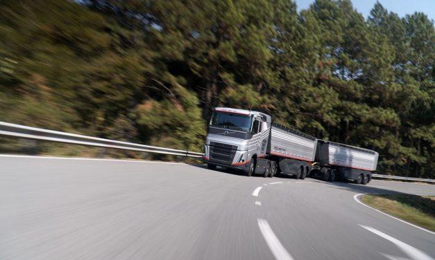 Volvo desenvolve conceito de graneleiro para a realidade brasileira