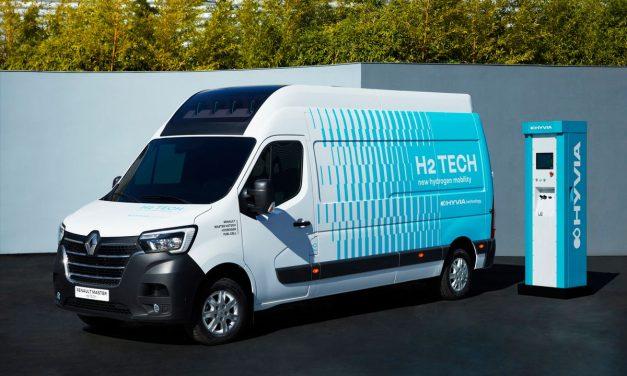 HYVIA apresenta Renault Master movido a hidrogênio