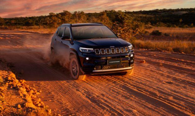 Aos cinco anos, Compass é decisivo para o melhor ano da Jeep no Brasil