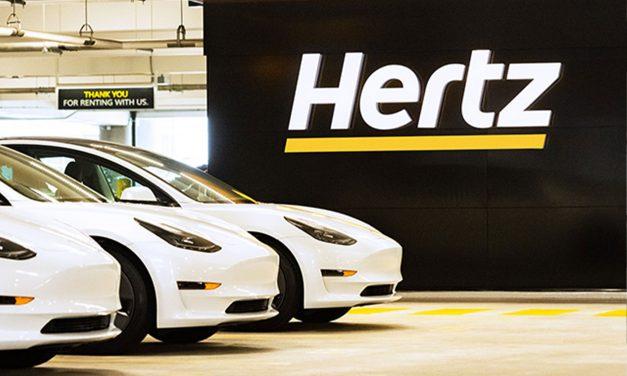 Hertz compra 100 mil Tesla e acelera eletrificação mundial
