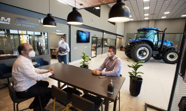 New Holland prioriza cliente com novo conceito de loja