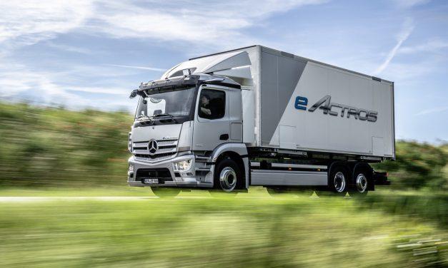 Mercedes-Benz já produz o eActros em série
